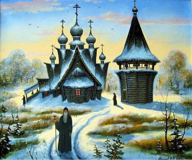 Художник Владимир Марков. Вечная русская сказка
