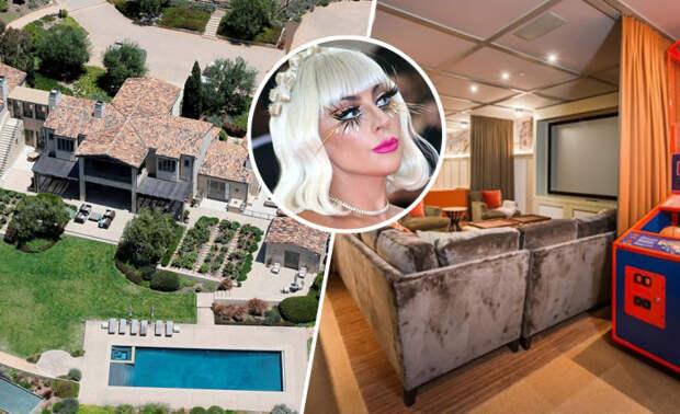 В каких домах живут Леди Гага, Джон Траволта и другие знаменитости наших дней