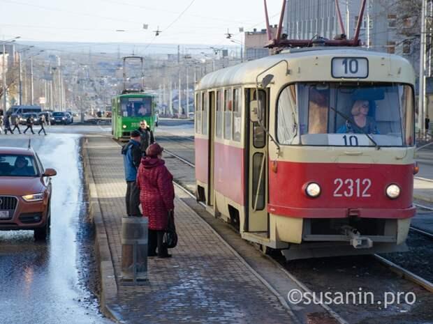 Движение трамваев ограничат в Ижевске в субботу
