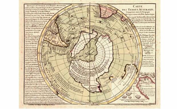 Древняя карта Филиппа Буаше