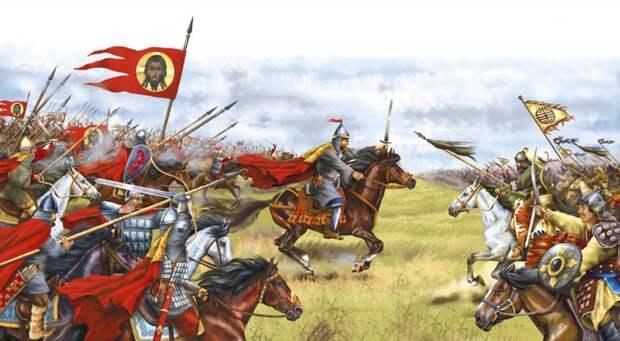 Число воинов которых привели на Куликовское поле.