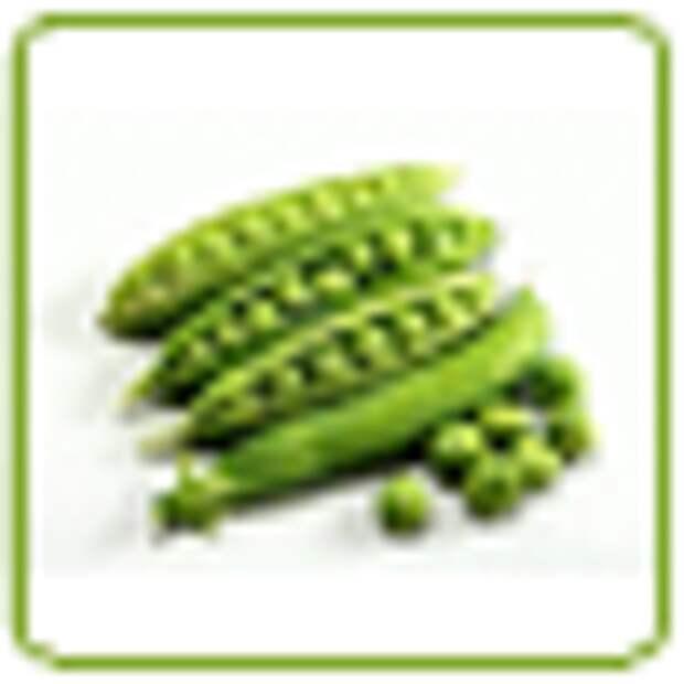 Паста из зеленого горошка с мятой, лимоном и чили