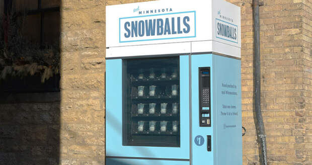 Бизнес по-американски: во время проведения Супербоула болельщикам продавали снежки по 1 доллару