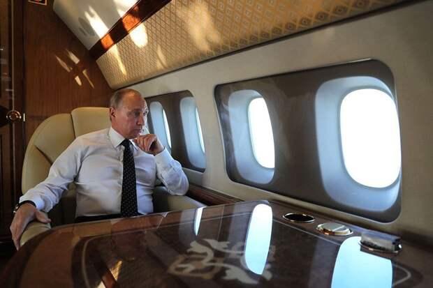 Путин прилетел в Женеву на саммит с Байденом