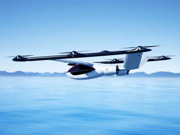 Компания Volocopter анонсировала проект гибридного летающего такси (ВИДЕО)