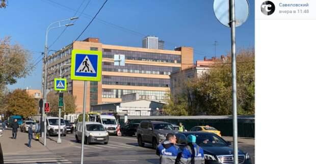 В Савеловском на перекрестке произошло ДТП