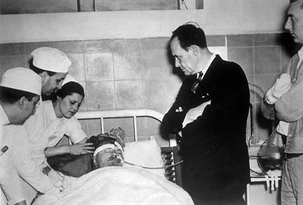 Лев Троцкий незадолго до смерти. 18 сентября 1940 года