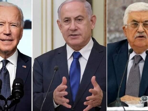 Байден призвал Аббаса остановить обстрелы Израиля
