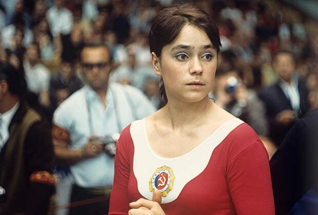 Воронина на Спартакиаде 1971 года