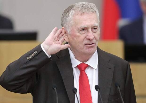 Жириновский раскритиковал «ни черта не понимающих во внешней политике»