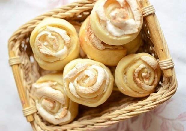 Печенье розочки