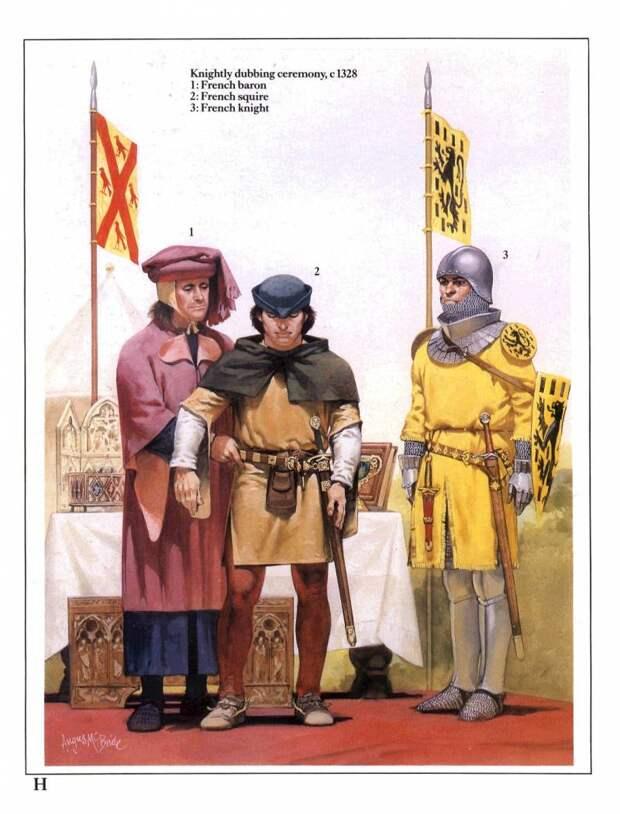 Рыцари и рыцарство трёх веков. Части 4-6