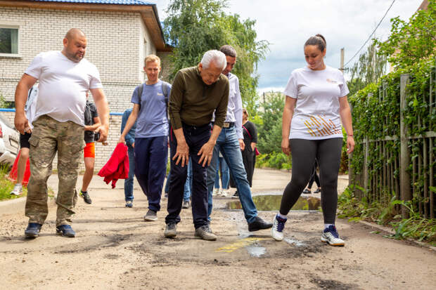 Дорожную проблему во дворах Твери помогает решить проект #Ямамнет