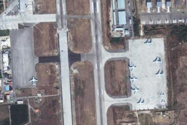 На российской авиабазе «Хмеймим» в Сирии замечена подозрительная активность