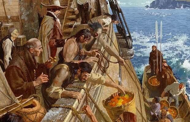 Почему раньше моряки не ловили рыбу во время плавания