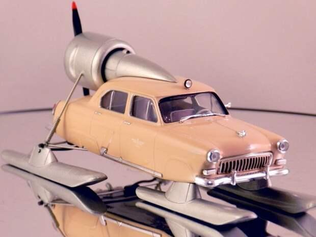 ГАЗ-21 Север-3 авто, автодизайн, газ, запорожец, моделизм, модель, москвич, советские автомобили