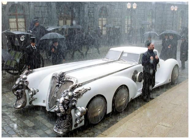 """Это киношная фантазия _ к/ф """"Лига выдающихся джентельменов"""". Но красиво, согласитесь? интересное, машины, странные"""