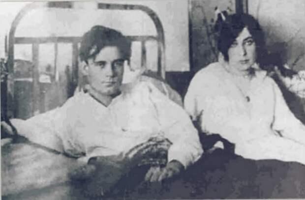 Яков Тряпицын и Нина Лебедева-Кияшко | Фото: retrospectra.ru