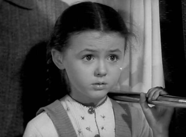 Наталья Селезнёва - первая роль в кино. / Фото: www.culture.ru