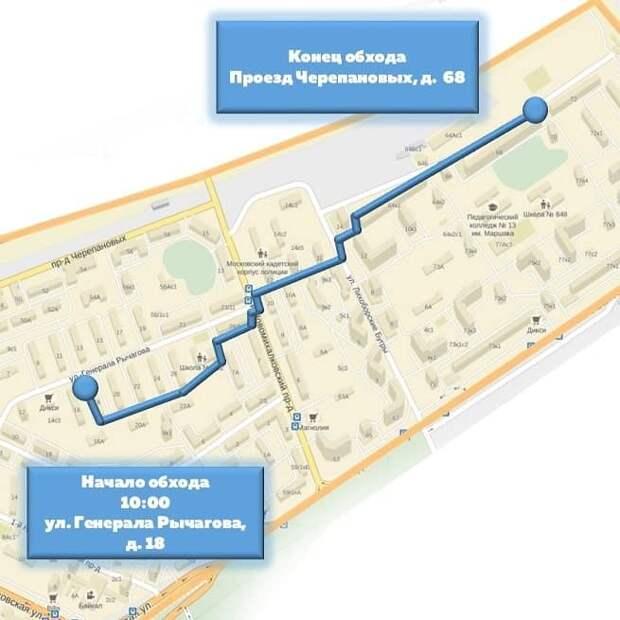 Глава управы Коптева посетит с проверкой три улицы