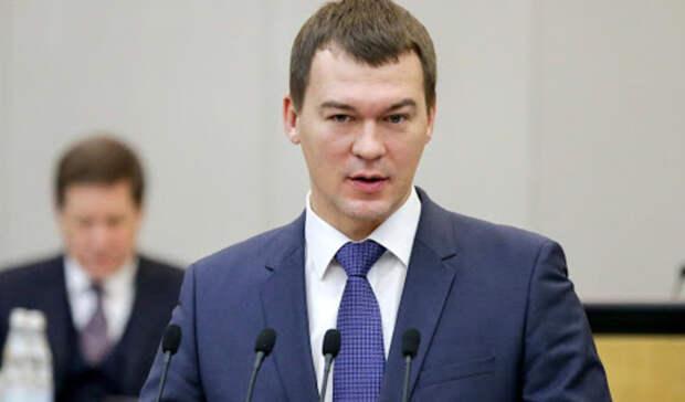 Дегтярев назвал Хабаровский край лидером помолодежной политике вДФО
