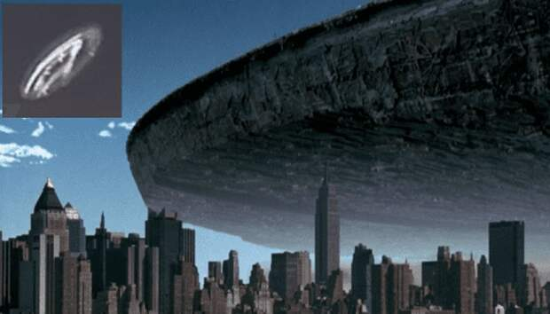 Ну вот, марсиане и прилетели: над Лос-Анджелесом появился маточный корабль