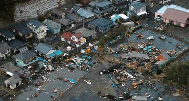 Последствия стихийного бедствия.