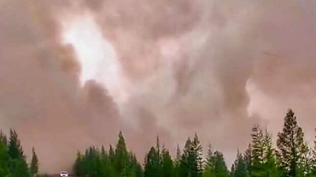 Жители Якутска страдают от лесных пожаров в Усть-Майском районе