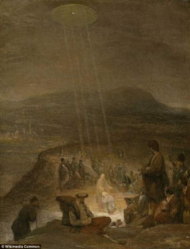 Свидетельства посещения Земли инопланетянами, зашифрованные в древних произведениях искусства