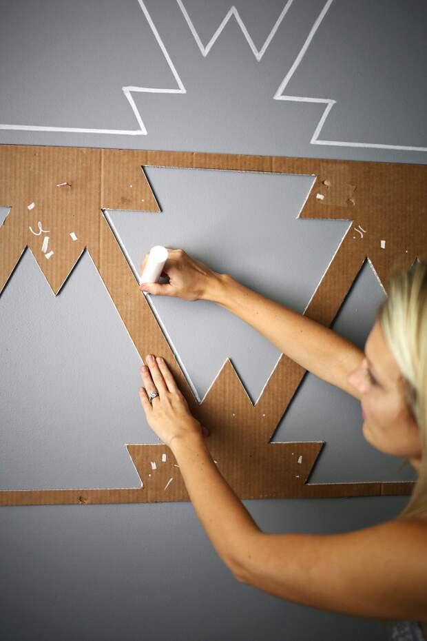 декор стен без обоев