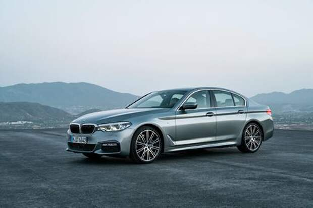Головоломка по-баварски: BMW представила новый седан 5-й серии