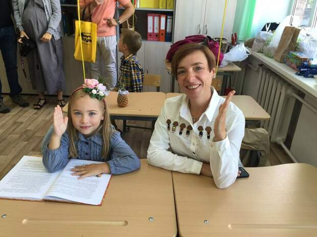 Тутта Ларсен с дочкой