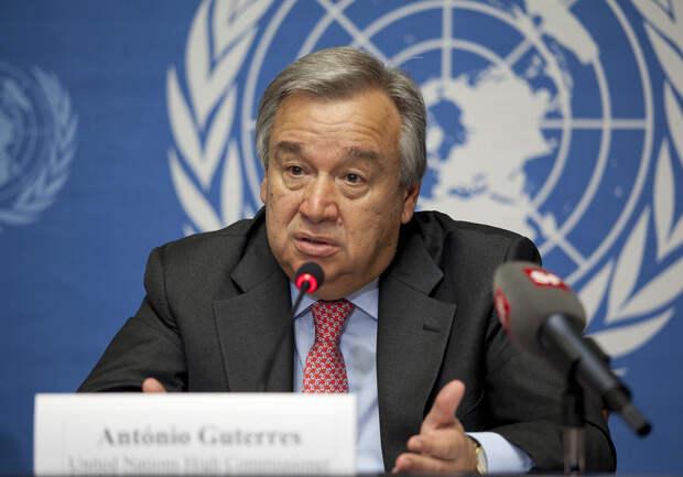 Генсек ООН признал неспособность Совбеза отвечать на вызовы