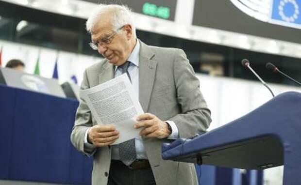 На фото: верховный представитель ЕС по иностранным делам и политике безопасности Жозеп Боррель