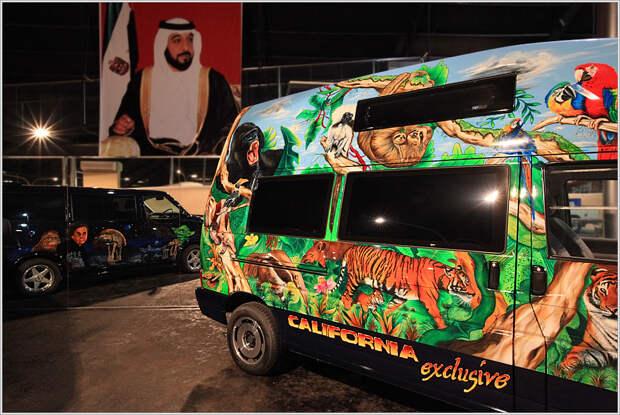Автогарем для шейха