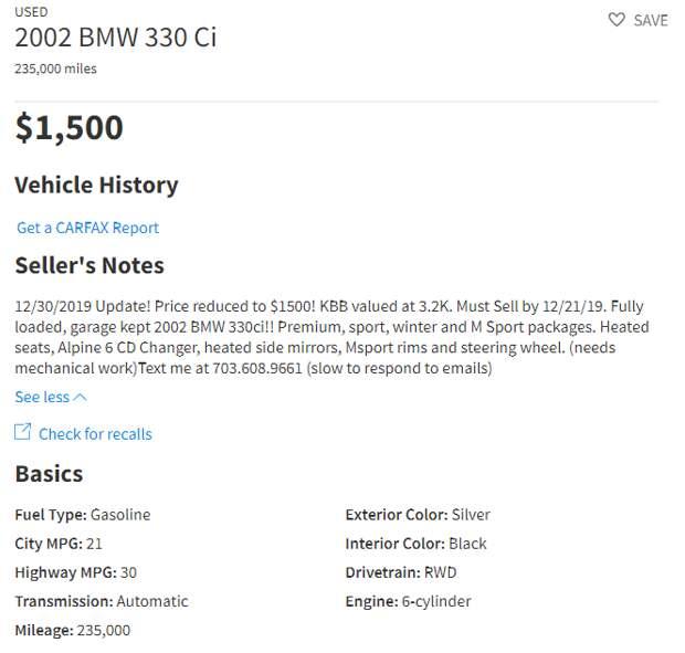 """""""Нам бы такие цены"""" Какую машину можно купить в США за 100 000 рублей?"""
