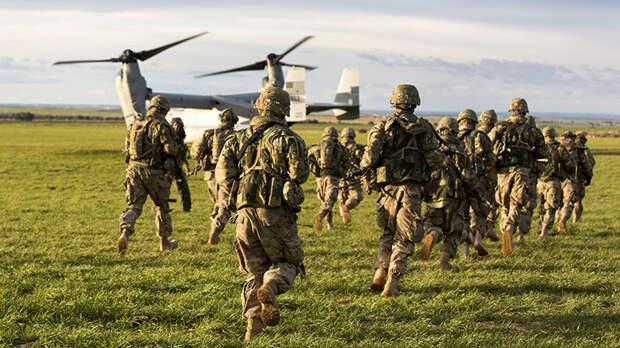 Группа американских десантников получила травмы на учениях Swift Response