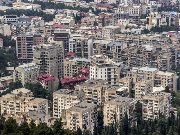 Грузия 2016. Тбилиси. Часть 1.