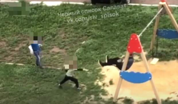 Полиция установила личности детей, закидавших камнями подростка-инвалида в Салавате