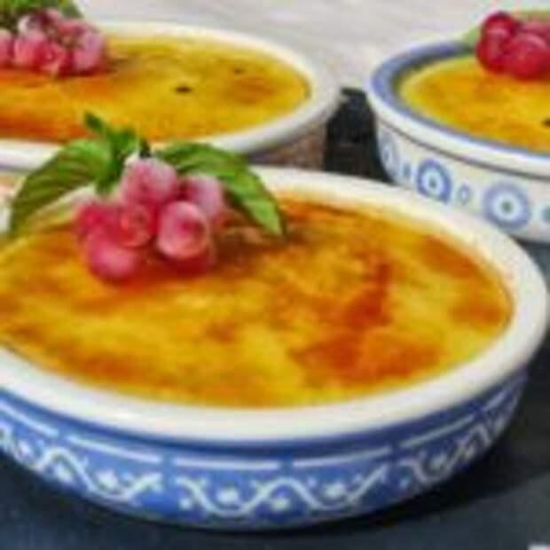 Каталонский крем – простой рецепт испанского десерта.