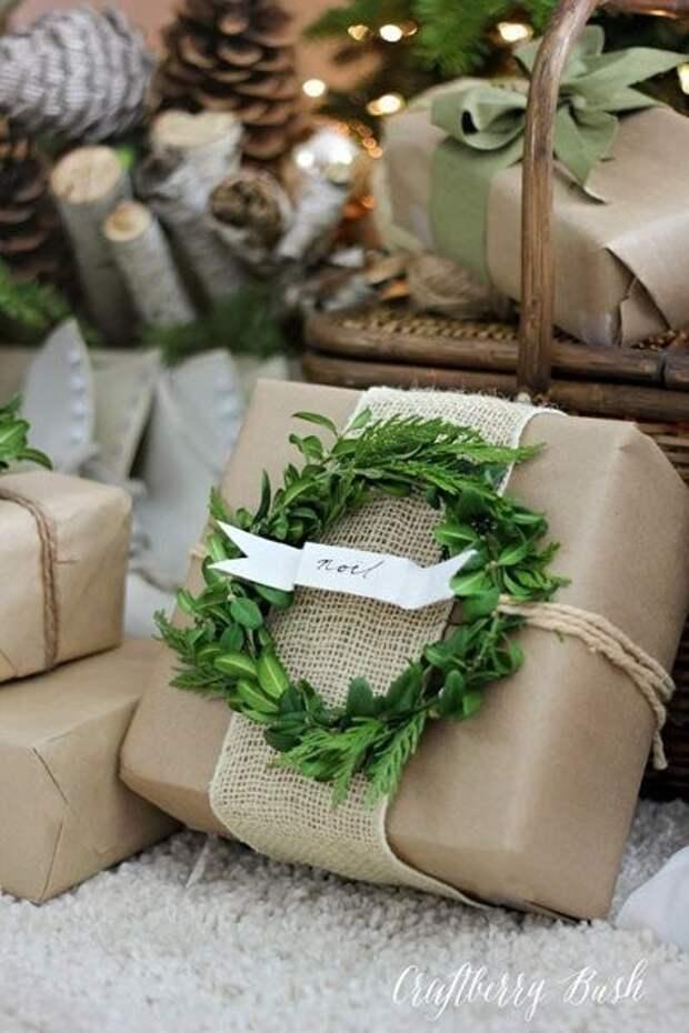 Идеи новогодней упаковки подарков