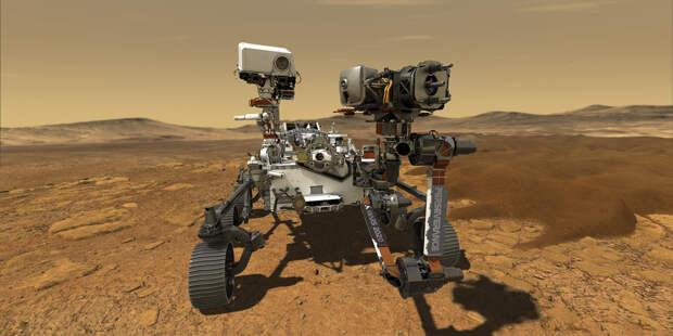 Марсоход Perseverance приступил к поискам внеземной жизни