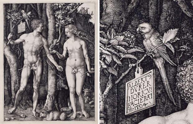 Альбрехт Дюрер «Адам и Ева»