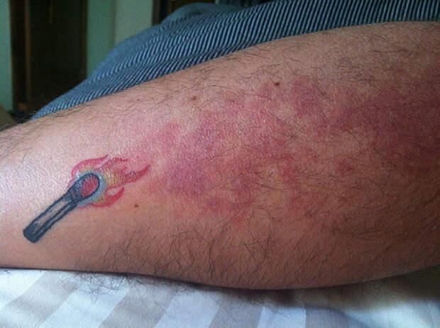 Татуировки, гениально маскирующие родимые пятна тату, тату на родинке