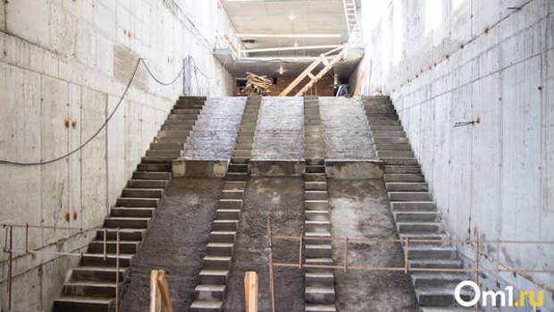 Швейцарские эскалаторы привезли в Новосибирск для станции метро «Спортивная»