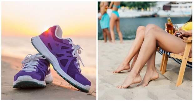 Как обезопасить от воров ценные вещи на пляже