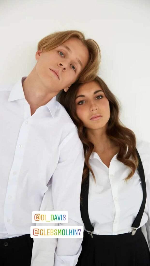 Фигуристка Диана Дэвис провела романтичную фотосессию с партнёром Глебом Смолкиным