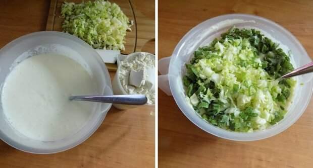 кексы из капусты