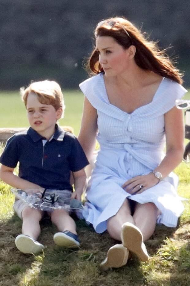 Кейт Миддлтон и принц Джордж, 2019 год
