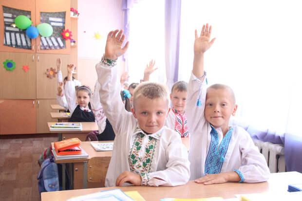 Где-то в украинской школе